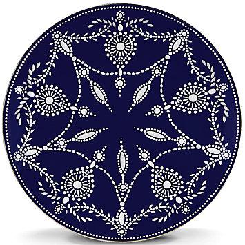 $55.00 Marchesa Empire Indigo Accent Plate